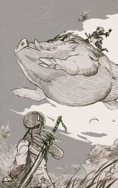 NieR: Automata Boar Riding