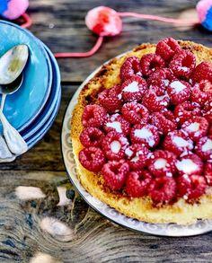 Gâteau de framboises debout pour 6 personnes - Recettes Elle à Table