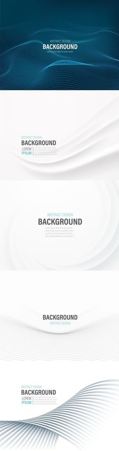 5 Presentation Layouts with Abstract Backgrounds. Buy this stock template and explore similar templates at Adobe Stock | Adobe Stock. #template #presentation #modern #wallpaper #vector #background #backdrop #abstract #illustration #design #cover #digital #style #poster #creative #card #concept #graphic #brochure #color #light #element #banner #business #web #technology #futuristic #shape #pattern #colorful #art #layout #bright #corporate #texture #line #tech #trendy #image #powerpoint…