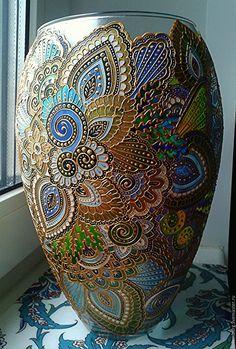 Купить или заказать керамическая ваза ручной работы в интернет-магазине на Ярмарке Мастеров. ваза керамическая, изготовленная в единственном экземпляре. Повторить работу можно, но точной копии не будет.