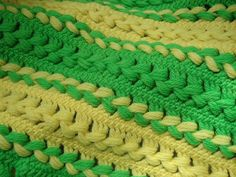 Hairpin Lace Afghan-my mother used this pattern a lot!