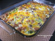 Hot Eats and Cool Reads: Hashbrown and Egg Breakfast Bake Recipe