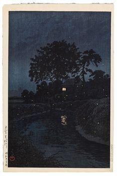 Kawase Hasui - Omiya Minumagawa (Minuma River in Omiya) - 1930