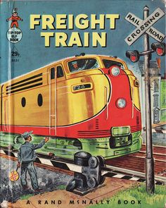 Freight Train childrens' book cover