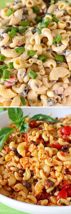 Easter Sides: The Best Macaroni Salad Ever & Sundried Tomato Pasta Salad > Willow Bird Baking