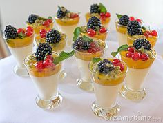 desserts | Sweet Berry Desserts Stock Image - Image: 5524811