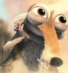 I love you Scrat! Ice Age