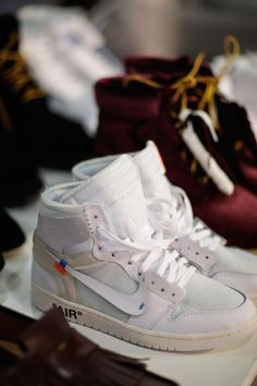 d142ee51419 All-White Virgil Abloh x Nike Air Jordan 1 Is Officially Unveiled