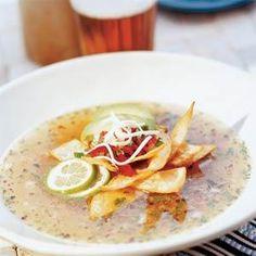Arizona Tortilla Soup Recipe   MyRecipes.com