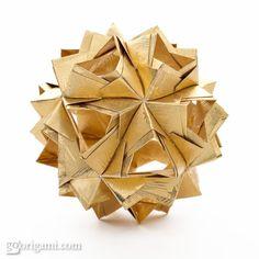 Modular Origami Ball 30 Units