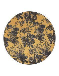 Essenza Flachgewebe-Teppich Vivienne in Ockergelb Silver Grey Rug, Black And Grey Rugs, Dark Grey Rug, Brown Rug, Yellow Rug, Colour Yellow, Gold Rug, Red Rugs, Flowers