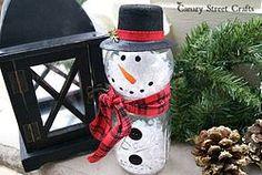 Mason+Jar+Snowman