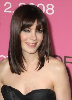 medium hair with bangs - Google Search