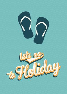 10 juli - 28 juli // Summer Holiday // Retro Poster by Sinan Saydik // Each day one pin that reflects our day