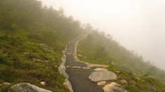 The trail up Mt. Skåla is made by sherpas from Nepal and maintained by volunteers - Norway #Hiking
