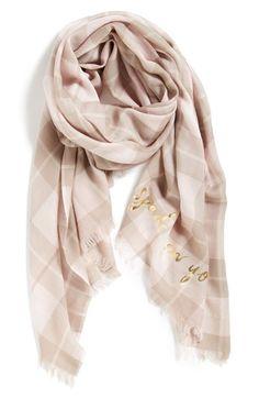 plaid scarf, winter fashion