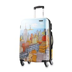 For NYC jet-setter :)  Samsonite® Cityscapes 20-Inch Hardside Spinner