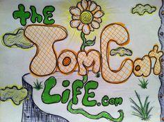 """The Tom Cat Life """"Flower"""" by Tom Cat  www.TheTomCatLife.com"""