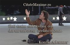 """Toti traim sub acelasi cer, dar nu toti avem acelasi orizont."" #CitatImagine de Konrad Adenauer Iti place acest #citat? ♥Distribuie♥ mai de... Cer, Quotes, Books, Inspiration, Quotations, Biblical Inspiration, Libros, Book, Book Illustrations"