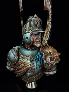 Polish Lithuanian winged Hussar by D _ · Putty&Paint Green Knight, Tatoo Designs, Renaissance Era, Warhammer 40k Miniatures, Fantasy Warrior, Medieval Fantasy, Military Art, Horseback Riding, Wings