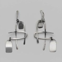 Earrings |  Art Smith, c. 1950.  Silver
