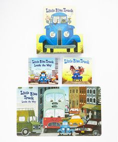 Take A Look At This Little Blue Truck Board Book Set On Zulily Today