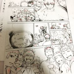 Anime Manga, Anime Art, Comic Book Layout, Animation Storyboard, Manga Drawing Tutorials, Graphic Novel Art, Figure Sketching, Bd Comics, Comic Drawing