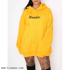 Hidden Cult Humble Yellow Sweatshirts Source by outfit Hoodie Outfit, Hoodie Dress, Sweater Hoodie, Stylish Hoodies, Yellow Hoodie, Teen Fashion Outfits, Cute Casual Outfits, Swagg, Aesthetic Clothes