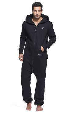 Check out the Original Onesie Black. High quality jumpsuit made of premium cotton. Adult Onesie Pajamas, Mens Onesie, Casual Shirts, Casual Outfits, Look Fashion, Mens Fashion, Barefoot Men, Athleisure Wear, Black Jumpsuit