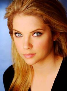 ashley benson eyes | ashley benson, blonde, eyes, girl, hannah - inspiring picture on Favim ...