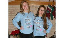 best friend shirts :) way Hoekman Best Friend Shirts, Best Friends, Graphic Sweatshirt, T Shirt, Something To Do, Sweatshirts, Sweaters, Tops, Women