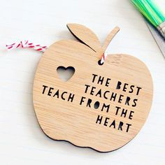 isn't this a lovely gift for end of year presents for teachers. Search 'teacher thank you ornament' on dtll.com.au or click on the shopable link in our profile to buy #dtll #downthatlittlelane