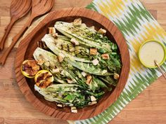 Get Grilled Caesar Salad Recipe from Food Network