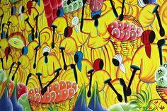 From the Dominican Republic. Caribbean Art, Sun Holidays, Dominican Republic, Beautiful Islands, Black Art, Folk Art, Art Gallery, Canvas Art, Arts And Crafts