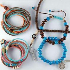 Surf bracelets DIY