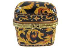Vintage Porcelain Ring Box