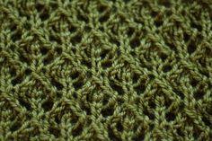 Ravelry: Feather Lace Stitch pattern by Derya Davenport