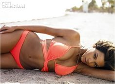 I probably wouldn't lay like this on the sand...I hate sand! But I will look like this by January!