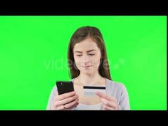 Online Shoping with Bank Cards (Stock Footage)