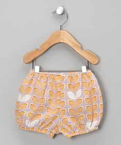 Take a look at this Orange Leaf Diaper Cover - Infant by zebi on #zulily today!