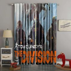 3D Printed Tom Clancy's The Division Style Custom Living Room Curtains – Westbedding