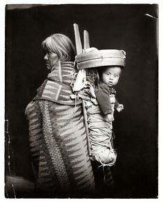 Woman and Papoose, Navajo (c.1900s)