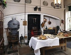 Regency Kitchen at Fairfax House, York.