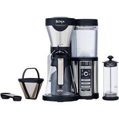 Ninja Coffee Bar with Glass Carafe $94 - http://www.gadgetar.com/ninja-coffee-bar-glass-carafe/