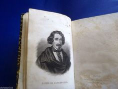 OBRAS POETICAS DE JOSE DE ESPRONCEDA - BEAUTIFUL!! GARNIER PARIS - XRARE 1871  *