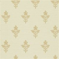 Zoffany - Luxury Fabric and Wallpaper Design | Products | British/UK Fabric and Wallpapers | Tussah Flower (ZPAW03004) | Papered Walls