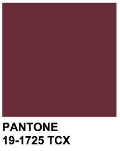 Pantone 19-1725 TCX Color Name: Tawny Port