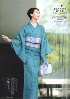 小千谷縮 美しいキモノ2017夏