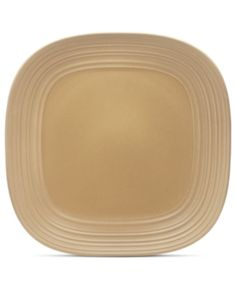 I'm learning all about Mikasa Dinnerware, Swirl Square Tan Platter at @Influenster!