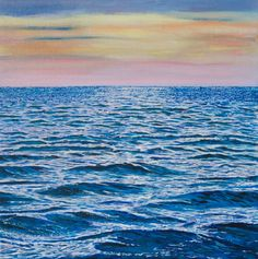 Summer Tide by Stefan Fierros. A beautiful #original #seascape #painting Stefan Fierros Art